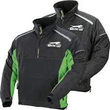 Arctic Cat Men's Backcountry Uninsulated Mountain Pullover Jacket - Green Black