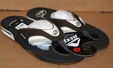 Reef Fanning Dark Brown Vapor Men Sandals Size 8 Flip Flop Bottle Opener New
