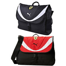 Puma Ferrari Replica Messenger Shoulder Bag Unisex Red Black Sports 072236 CC