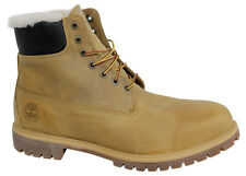 Timberland 6 Inch Tan Warm Lined Leather Mens Boots Lace Up