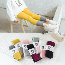 Girls Winter Footless Cable-knit Tights Children Sensational fashion Socks