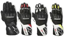 Mens Alpinestars SP-8v2 Pair Leather Motorcycle Riding Street Racing Gloves