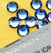 GENUINE Swarovski Light Sapphire (211) Crystal ( No Hotfix ) Flatback Rhinestone