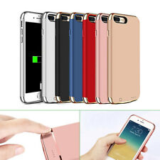 Ultra-Thin Power Bank Battery Backup Charger Case Cover for iPhone 8 7 6s Plus