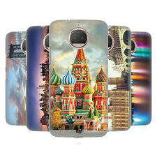 HEAD CASE DESIGNS CITY SKYLINES HARD BACK CASE FOR MOTOROLA MOTO G5S PLUS