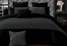 Stone grey 3pcs Queen / Super King size Quilt Cover Set / optional accessories