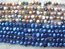 "5 Strands 6-7mm Baroque Shape Freshwater Pearl Loose Beads 14""Wholesale"