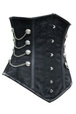 Sexy Vintage Under Breast Corset Corset Black Bustier Gothic STE Laundry Bags