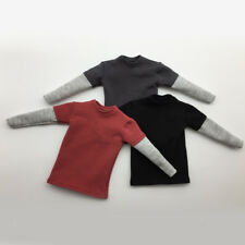 1:6 Scale Man Action Figure Outfit Clothing Long Sleeve T-shirt Shirt Top