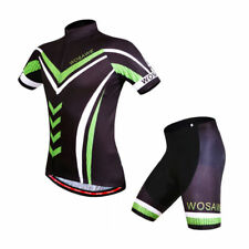 Mens Cycling Bike Jersey Shorts Summer Gel Padded Breathable Suit Riding Bicycle