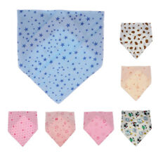 (1/5x) Infant Kids Baby Unisex Feeding Saliva Towel Dribble Triangle Bandana Bib