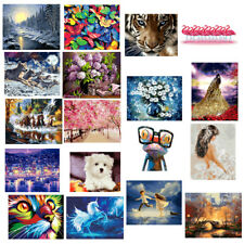 Unframed DIY Paint By Numbers Kit DIY Oil Painting Linen on Canvas Artwork Decor