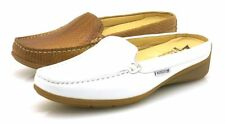 Mephisto nedina Leather Mules Mules Leather Shoes Clogs Ladies' Shoes