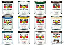 1 quart Rust-Oleum Paint STOPS RUST Protective Enamel OIL-BASED for Metal & more