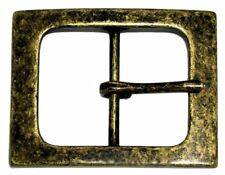 """Square Single Prong Center Bar Replacement Belt Buckle 1-1/2"""" (38mm) wide"""