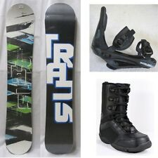NEW TRANS SNOWBOARD, BINDINGS, BOOTS PACKAGE - 148cm