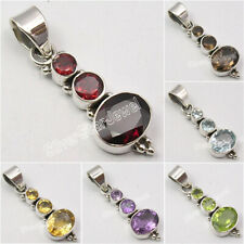 925 Solid Silver Pendant Vintage Style Fashion Jewelry ! Factory Direct Gift
