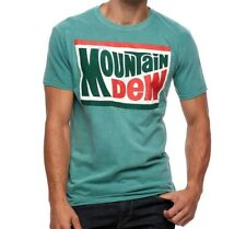 Official Licensed Mtn Mountain Dew Pepsi L Large Green Tee T-Shirt BNWT NEW