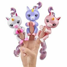 WOW WEE FINGERLINGS GLITTER MONKEYS, UNICORN OR UNTAMED DINOSAUR NEW