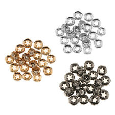 20 Pcs Crystal Loose Beads for Bracelet Necklace Pendant DIY Jewelry Making
