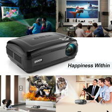 GIGXON 5 Inch HD LCD Projector LED Home Theater 3200Lumens HDMI/USB/VGA/AV