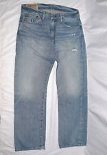 Polo Ralph Lauren Men's 867 Classic Fit Jeans Maidstone Distressed, Blue, New