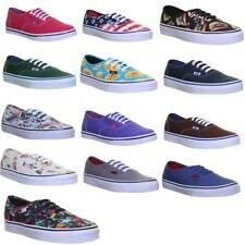 Vans Authentic Womens Lace up Casual Trainers Size UK 3 - 8