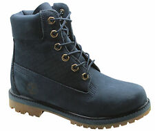 Timberland AF Icon 6 Inch Premium Womens Boots Lace Up Blue A13GY T5