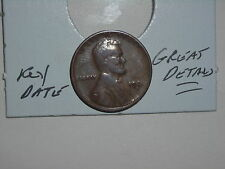 wheat penny 1924D LINCOLN CENT 1924-D NICE DETAILS KEY DATE! FREE SHIPPING
