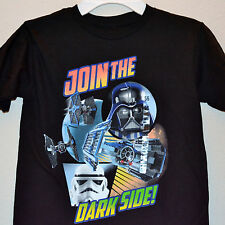NWT ☀STAR WARS☀ Boys JOIN THE DARK SIDE t-shirt   YOU PICK   4   5/6   7