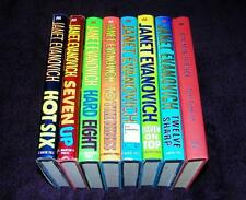 JANET EVANOVICH lot 8 hc dj Stephanie Plum 6 - 13 VG  free ship