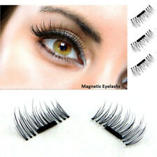 Natural Extension 3D Magnetic 4pcs False Eyelashes No Glue Handmade Eye Lashes
