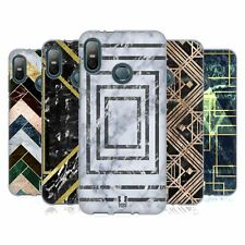 HEAD CASE DESIGNS GEOMETRIC MARBLE SOFT GEL CASE FOR HTC PHONES 1