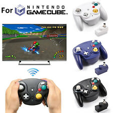 Wireless Game Controller With Receiver Adapter 2.4G for Original GameCube NGC US
