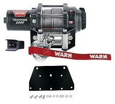 Warn 2000 LB Winch and Mount For Yamaha Kodiak Grizzly 450 09-13