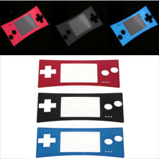 Protector Cover Skin Front Faceplate Case For Nintendo GameBoy Micro GBM