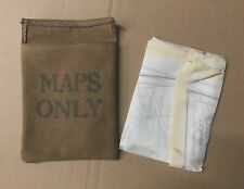 WW2 RAF SILK ESCAPE MAP