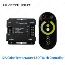 12A Color Temperature LED RF Touch Remote Controller 5050 Dual White Strip Light