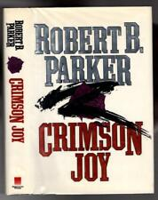 1988 CRIMSON JOY Robert B. Parker, Spenser novel, signed 1st edition
