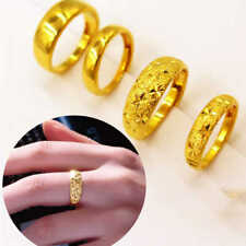 Men Women  Gold Filled18k Gold Filled Engagement Band Valentine Jewelry Gifts #8