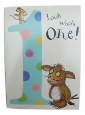 The Gruffalo birthday card for a 1 (One) year old by Danilo - GR001
