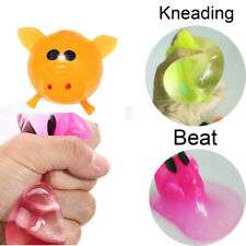 1Pcs Jello Pig Cartoon Anti Stress Splat Water Pig Ball Vent Toy Venting Sticky