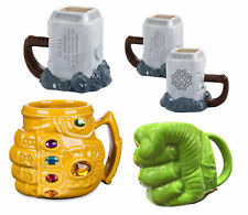 Endgame Thanos Infinity Gauntlet Mug Thor Iron Man Spiderman Hulk Cup Coffee Tea