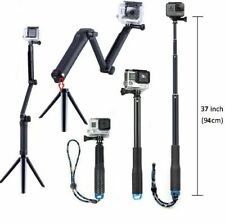 Handheld Monopod Selfie Stick Pole for Gopro Hero 3 4 5SJ4000 Xiao yi Waterproof