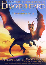 DRAGONHEART - 2 LEGENDARY TALES (THE FRANCHISE COLLECTION) (BILINGUAL) (DVD)
