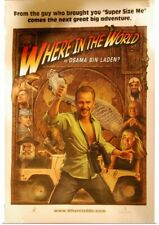 """Poster Print """"Where in the World is Osama Bin Laden? - Movie Poster"""""""