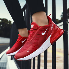 Men's Flyknit Air 270 Running Shoes Athletic Sneakers Breathable Casual Jogging
