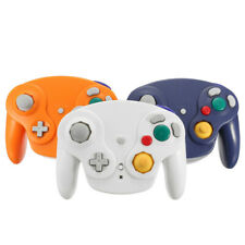 2.4G Wireless Controller Game Gamepad +Receiver For Nintendo Gamecube NGC Wii-*-