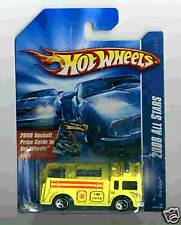 Hot Wheels 2008 All Stars 048 Fire-Eater Yellow 5sp