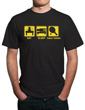 Eat, Sleep, Table Tennis Funny T-Shirt. All Sizes!